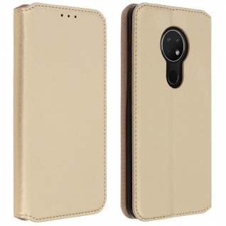 Kunstleder Cover Classic Edition Nokia 7.2 , Nokia 6.2 - Gold
