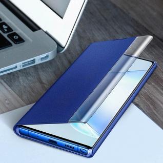 Original Samsung Clear View Cover für Samsung Galaxy Note 10 Plus - Blau - Vorschau 4