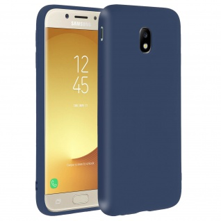 Forcell Samsung Galaxy J5 2017 Soft Touch Silikonhülle, soft case - Dunkelblau