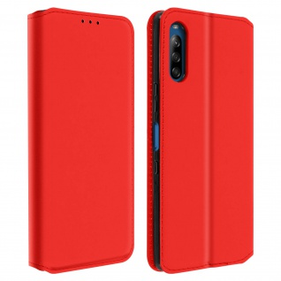 Kunstleder Cover Classic Edition Sony Xperia L4 - Rot