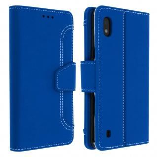Samsung Galaxy A10 Klapphülle mit Portemonnaie - Blau