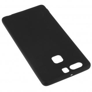 Huawei P9 schwarze ultradünne Schutzhülle aus Silikon