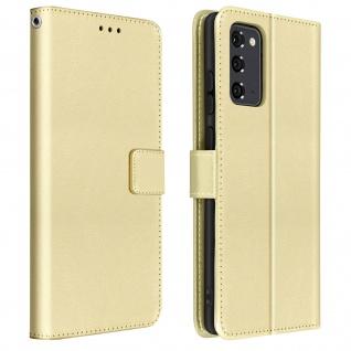 Retrohülle Geldbörse für Samsung Galaxy Note 20 ? Gold