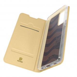 Klappetui mit Kartenfach & Standfunktion Samsung Galaxy A72 ? Gold