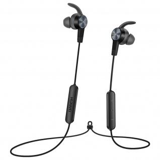 Original Huawei Bluetooth 4.1 in-ear Kopfhörer mit Fernbedienung ? Schwarz