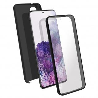 Schutzhülle für Samsung Galaxy S20, Vorder- + Rückseite ? Schwarz