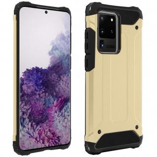 Defender II schockresistente Schutzhülle Samsung Galaxy S20 Ultra â€? Gold