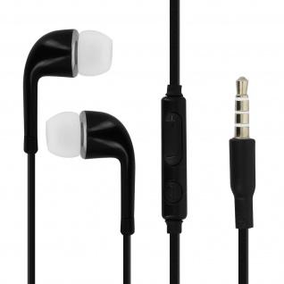 Verwicklungsfreie in-ear Kopfhörer Fernbedienung 3.5mm Klinkenstecker â€? Schwarz