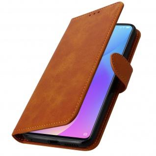 Buffalo Kunstlederetui Xiaomi Mi 9T, Standfunktion & Kartenfächer - Kupfer - Vorschau 2