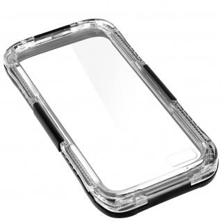 IP68 wasserdichte Schutzhülle für Apple iPhone 6 Plus / 6S Plus - Schwarz