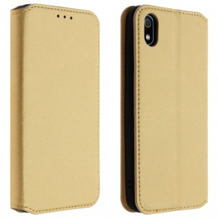 Kunstleder Cover Classic Edition Xiaomi Redmi 7A - Gold