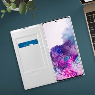 Original Samsung LED-View Cover + Kartenfach Samsung Galaxy S20 - Weiß - Vorschau 4