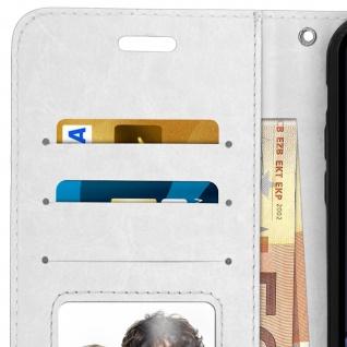 Flip Stand Cover Brieftasche & Standfunktion Apple iPhone XR - Weiß - Vorschau 4
