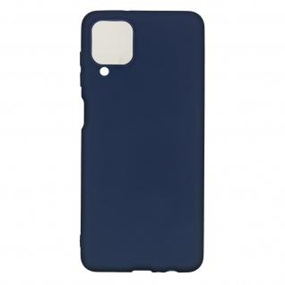 Samsung Galaxy A12 Soft Touch Silikonhülle, soft case ? Dunkelblau