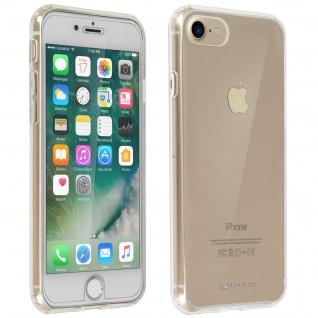 Schutzhülle + Schutzfolie Hartglas iPhone 7 / 8 / SE 2020 - 4Smarts Transparent
