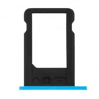 Nano-Sim-Ersatz-Kartenhalter für Apple iPhone 5C - Blau