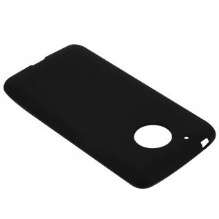 Unverbrüchliche schwarze Schutzhülle aus Silikon für Motorola/ Lenovo Moto G5