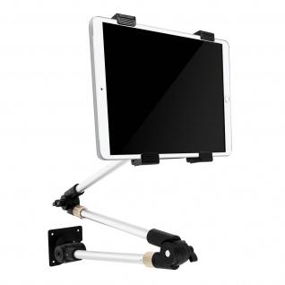 Wandhalterung für 7'' bis 11'' Tablets 360° drehbar, neig- und schwenkbar - Weiß