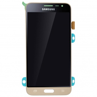 Original Samsung LCD Komplettset Samsung Galaxy J3 + Touchscreen - Gold - Vorschau 3