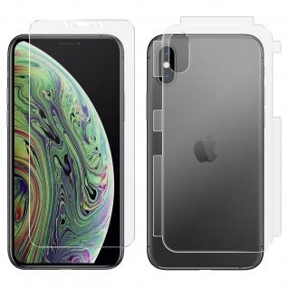 Antibakterielle 360° Rundumschutzfolie für Apple iPhone X / XS ? Transparent