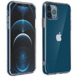 360° Protection Pack für Apple iPhone 12 Pro Max: Cover + Displayschutzfolie