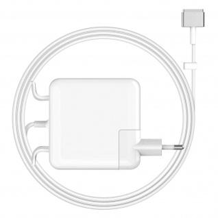 Weißes LinQ A2-60 MagSafe 2 60W Wand-Ladegerät für Macbook / Macbook Pro 13''
