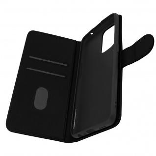 Klappetui mit Geldbörse, Kunstlederhülle für Oppo A94 5G ? Schwarz