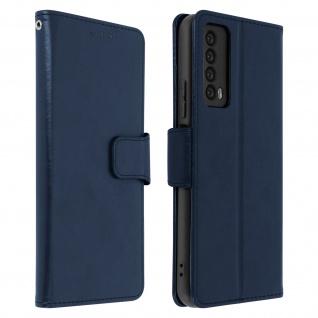 Flip Stand Case Brieftasche & Standfunktion für Huawei P Smart 2021 ? Dunkelblau