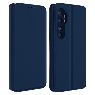 Kunstleder Cover Classic Edition Xiaomi Mi Note 10 Lite ? Blau