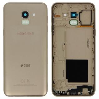 Ersatzteil Akkudeckel, neue Rückseite für Samsung Galaxy J6 (2018) ? Gold