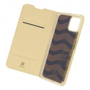 Klappetui mit Kartenfach & Standfunktion für Oppo Reno 4Z ? Gold