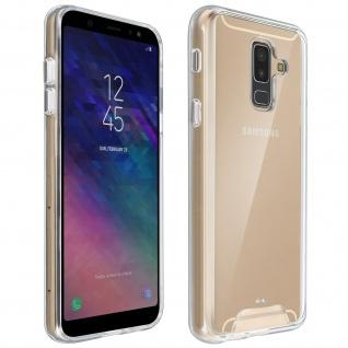 Cristal Hybrid Schutzhülle, Backcover für Samsung Galaxy A6 Plus - Transparent