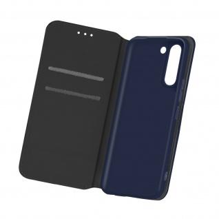 Kunstleder Cover Classic Edition für Samsung Galaxy S21 â€? Dunkelblau