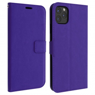 Flip Cover Stand Case Brieftasche & Standfunktion iPhone 11 Pro Max - Violett