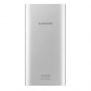 EB-P1100 10000mAh Akkupack, 4A LED Powerbank by Samsung, 2x USB-Ports - Silber
