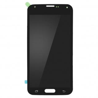 Ersatzdisplay mit Samsung Galaxy S5 kompatibel, Scheibe vormontiert - Schwarz