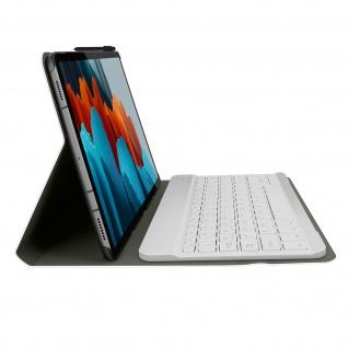 Klapphülle mit integrierter Bluetooth Tastatur für Galaxy Tab S7 11.0 ? Rosegold