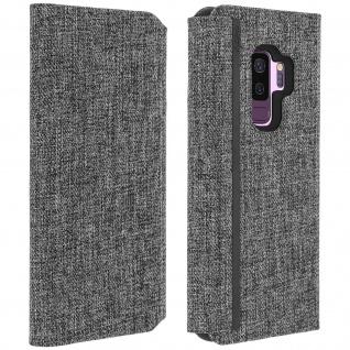 Incipio Esquire Flip Cover Samsung Galaxy S9 Plus, Stoffcase & Ständer - Grau