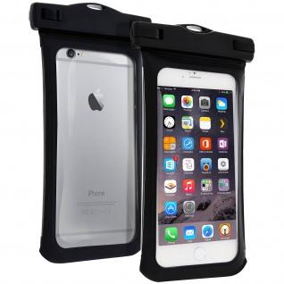 Wasserdichte Tasche IPX8 (10m wasserdicht) für 5.5 Zoll Smartphones - Schwarz