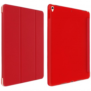 Trifold Klapphülle + Standfunktion für iPad Air 2019 /iPad Pro 10.5 - Rot