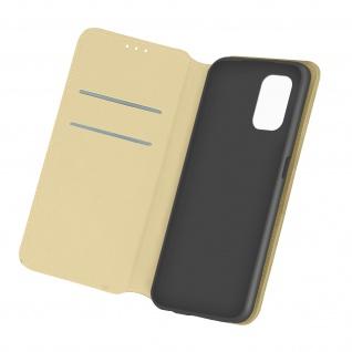 Kunstleder Cover Classic Edition für Xiaomi Redmi Note 10 / Note 10s â€? Gold