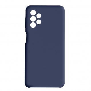 Venus Series halbsteife Soft-Touch Silikonhülle für Samsung A32 5G ? Dunkelblau