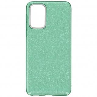 Schutzhülle, Glitter Case für Samsung Galaxy A72, shiny & girly Hülle â€? Grün