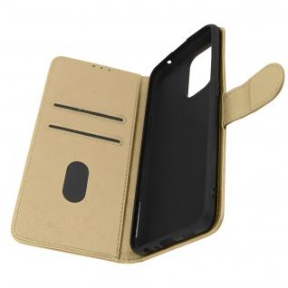 Klappetui mit Geldbörse, Kunstlederhülle für Oppo A94 5G ? Gold