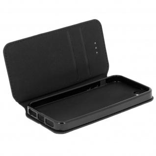 Flip-Cover Classic Edition für Apple iPhone SE/5/5S - Schwarz