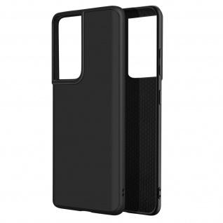 SolidSuit Series Handyhülle by Rhinoshield für Samsung S21 Ultra ? Schwarz