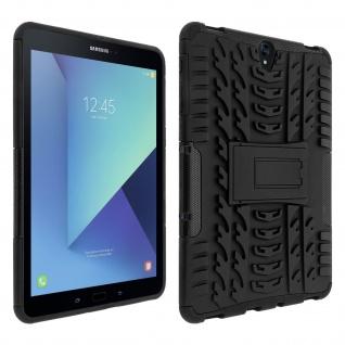 Samsung Galaxy Tab S3 stoßfeste Schutzhülle Schwarz - Integrierte Standfunktion