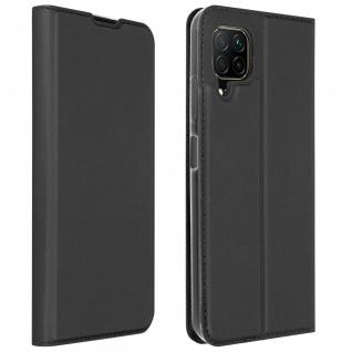 Klappetui mit Kartenfach & Standfunktion Huawei P40 Lite - Schwarz