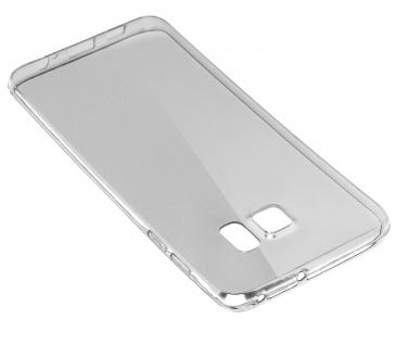 Samsung Galaxy S6 Edge Plus transparente Hülle + Glas-Displayschutzfolie