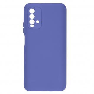 Halbsteife Silikon Handyhülle für Xiaomi Redmi 9T, Soft Touch ? Violett